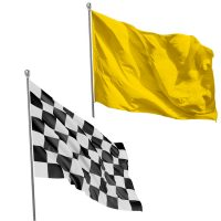 3×5 Stock Solid Color Flags