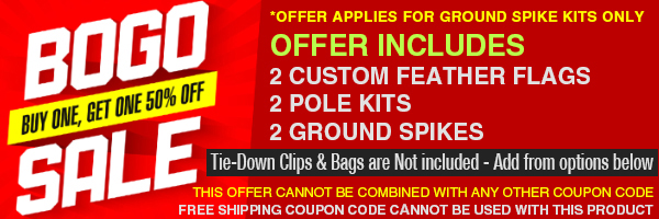 bogo feather flags