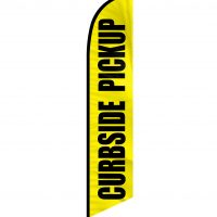 Curbside Pickup Feather Flag FFN-CP-02452