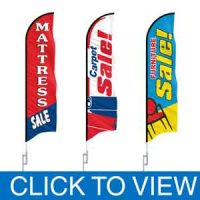 Furniture Sale Feather Flags