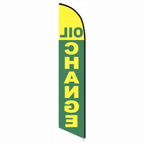 Oil-Change-Green-and-Yellow-Feather-Flag-FFN-5214