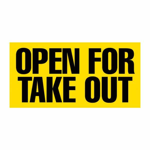 Open For Take Out Vinyl