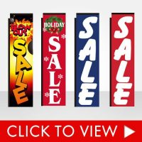 Sale Banner Flags
