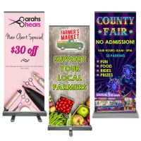 Roll-up Retractable Banner 33″ x 80″