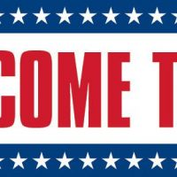 Income Tax  Sign Banner With Stars 4X8
