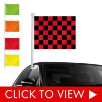 Solid and Checkered Window Clip-ons