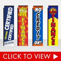 Used Auto Dealership Banner Flags